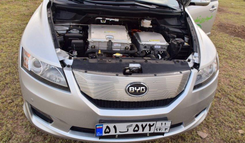 موتور بی وای دی e6