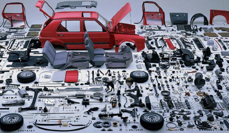 اجزای موتور خودرو