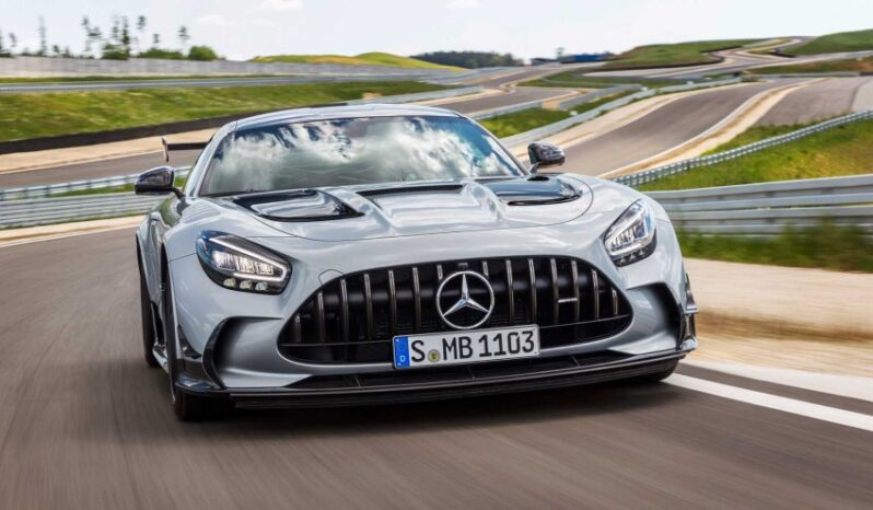 مرسدس AMG GT بلک سریز