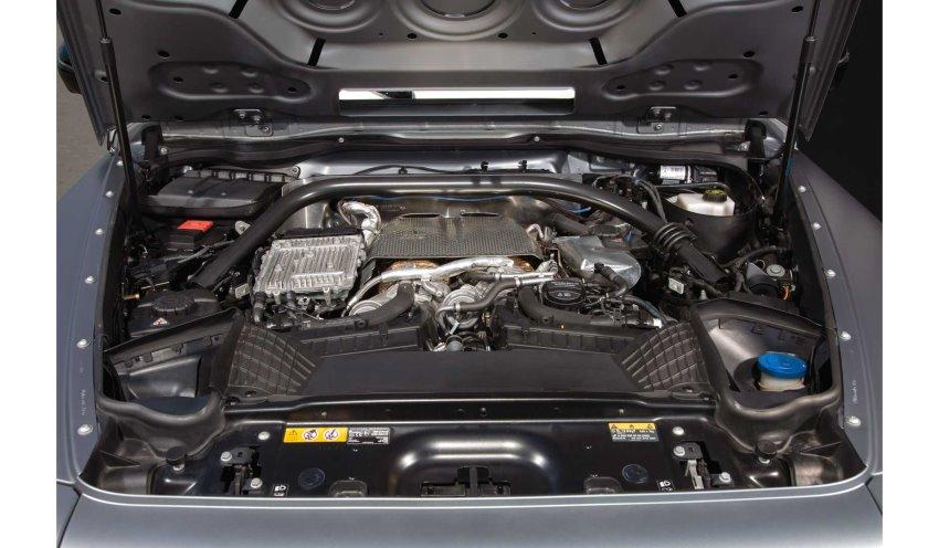 موتور مرسدس AMG G63 Posaidon