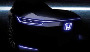 تیزر خودروی الکتریکی هوندا