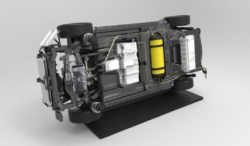 ساختار خودروهای هیدروژنی