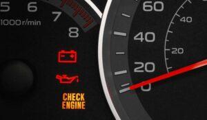 دلایل روشن شدن چراغ چک خودرو