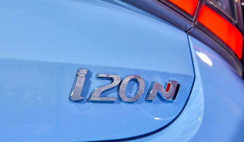 لوگو هیوندای i20 N 2021