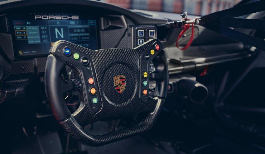 کابین پورشه 911 GT3 Cup