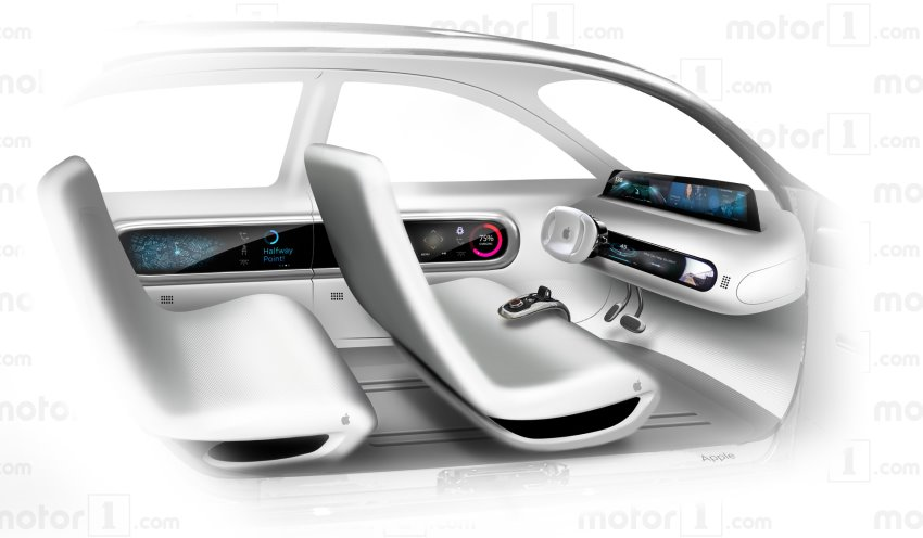 کابین خودروی خودران اپل