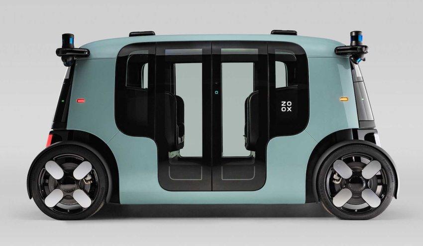 تاکسی خودران الکتریکی Zoox