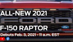 تیزر فورد F-150 راپتور 2021