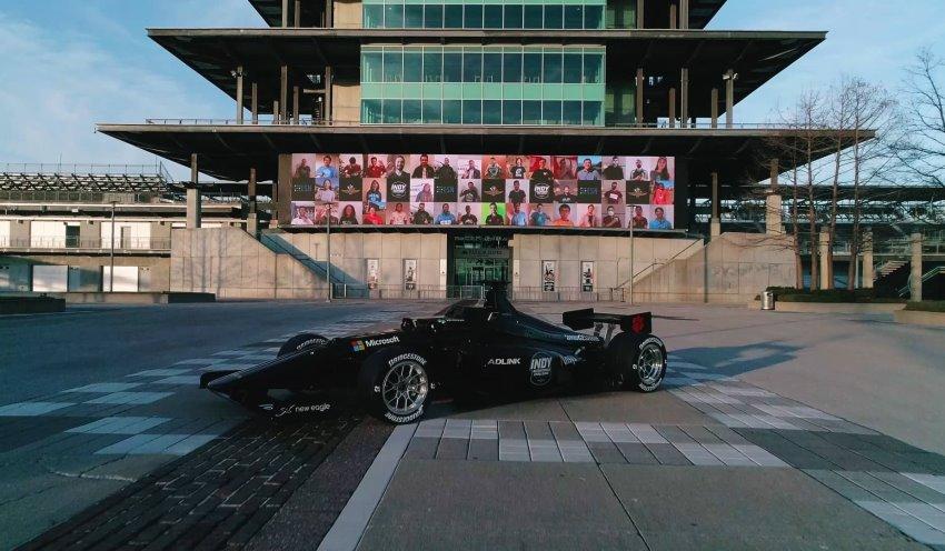 خودروی مسابقه ای خودران Indy Autonomous و دالارا