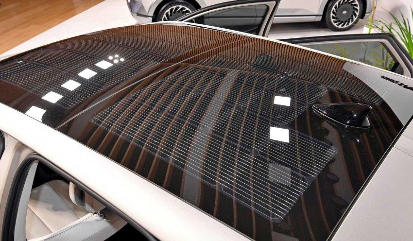 سقف سولار خورشیدی هیوندای ioniq 5