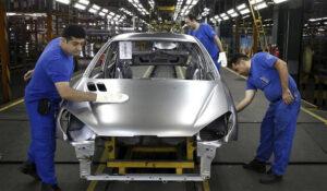 خط تولید خودرو