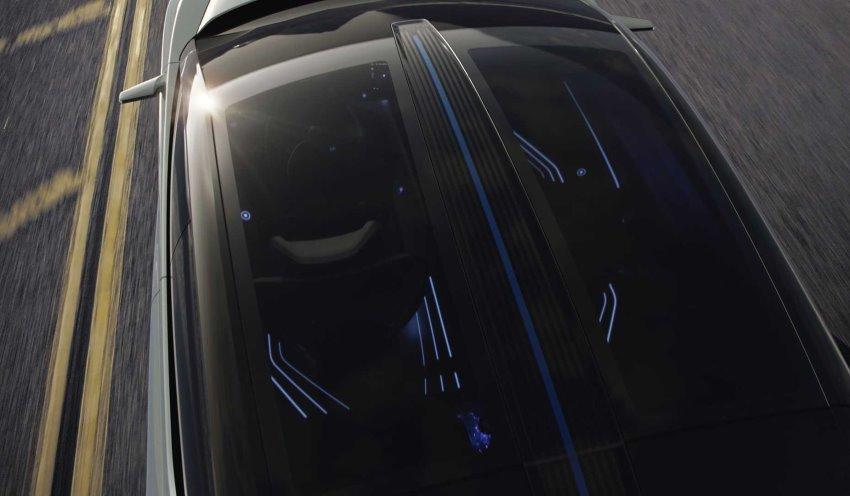سقف شیشه ای لکسوس LF-Z