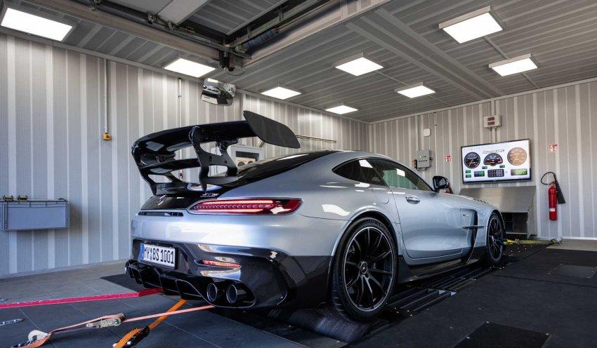 داینو تست مرسدس AMG GT بلک سریز Opus