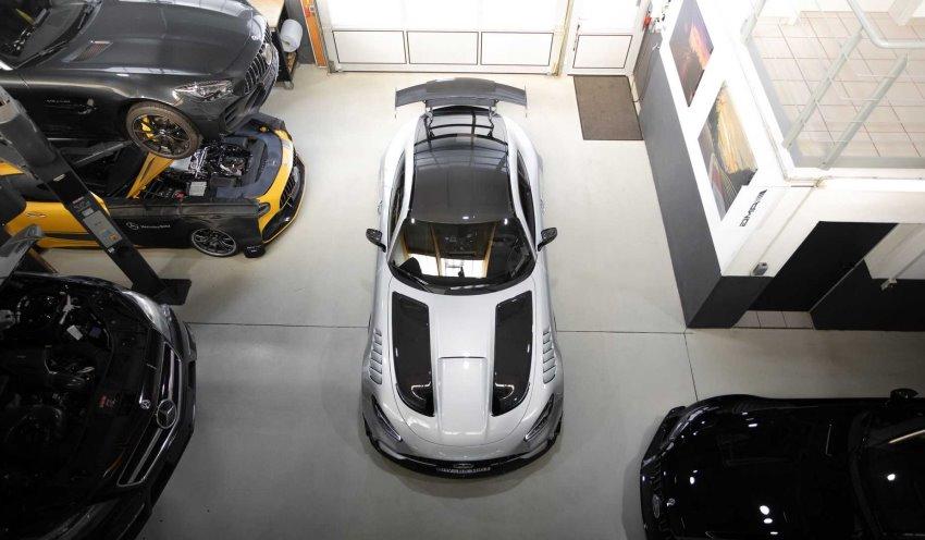 مرسدس AMG GT بلک سریز Opus