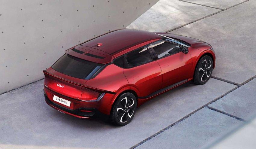 سقف کیا EV6 GT