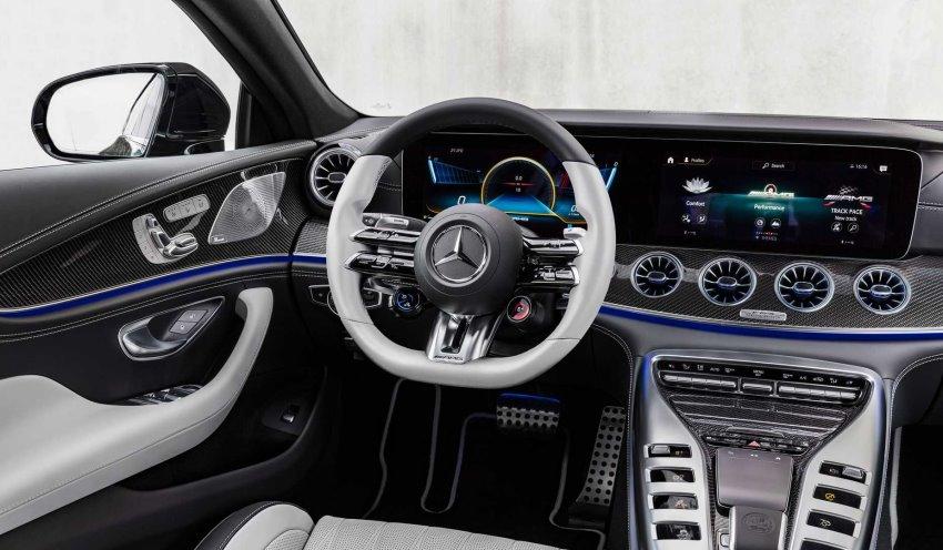 کابین مرسدس AMG GT چهار درب 2022