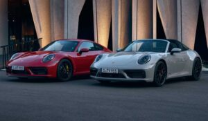 پورشه 911 GTS و تارگا