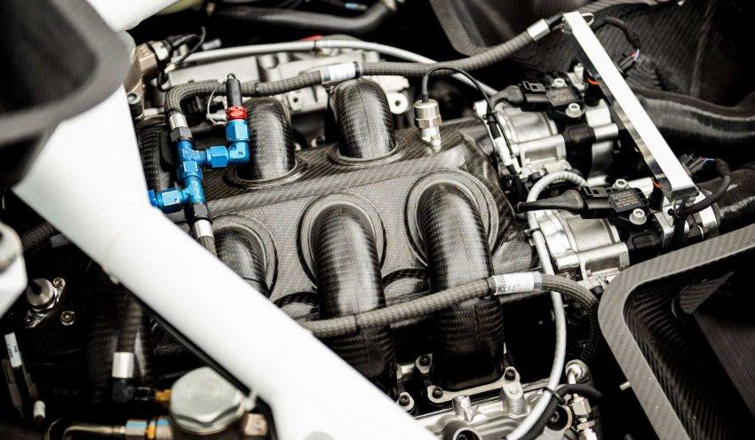 پیشرانه بنتلی کانتیننتال GT3 Pikes peak