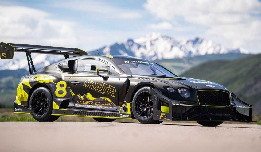 بنتلی کانتیننتال GT3 Pikes peak