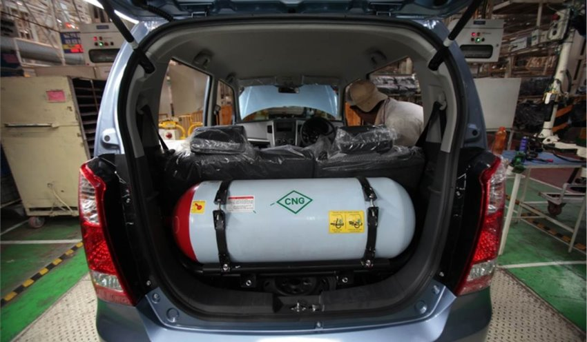 خودروی گازسوز CNG