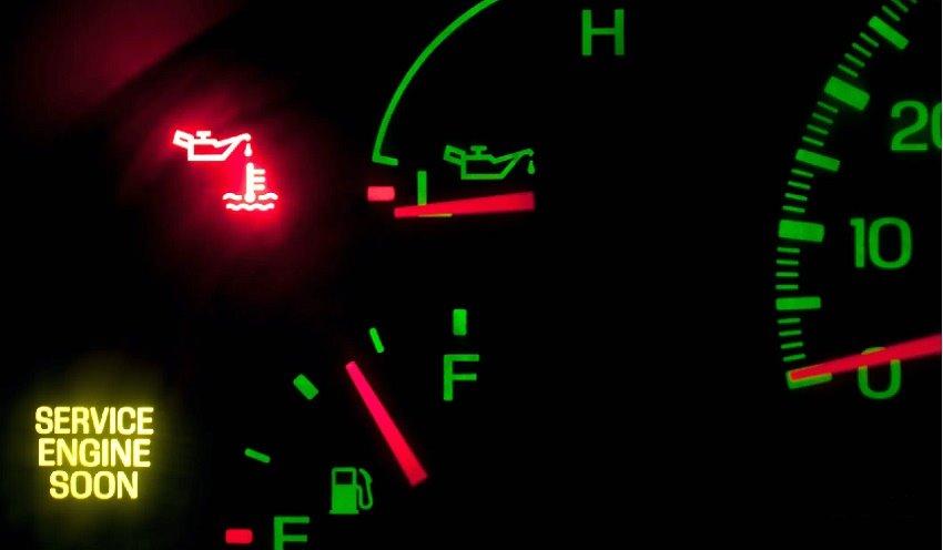 گیچ روغن موتور