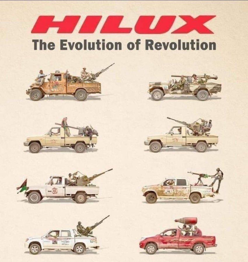 تکامل تویوتا هایلوکس