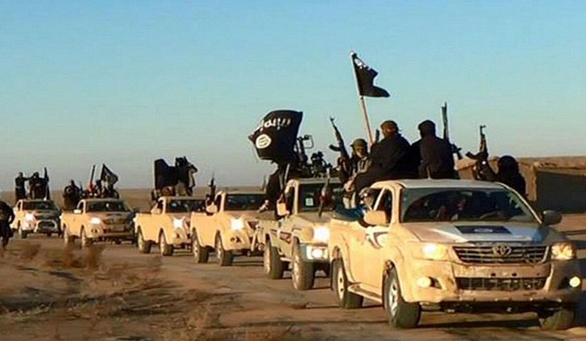 هایلوکس در دست داعش