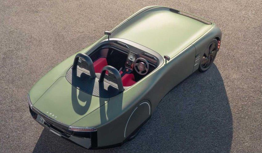 سقف خودروی الکتریکی aura