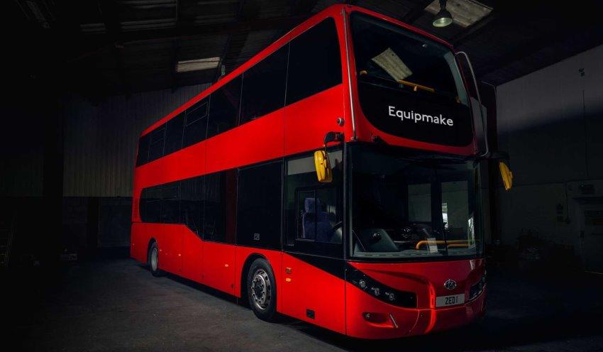 اتوبوس الکتریکی Jewel E