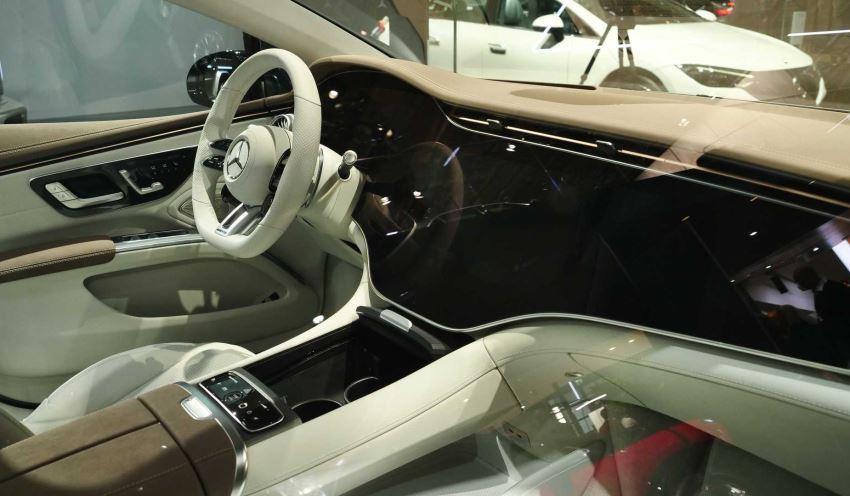 کابین مرسدس AMG EQS 2022