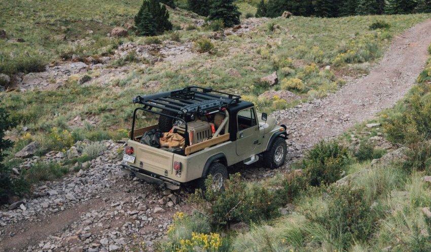 جیپ CJ-8 اورلند ادیشن